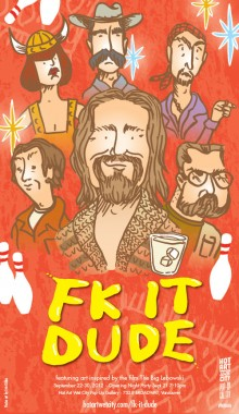 Fk It Dude - poster art by Erin Gibbs